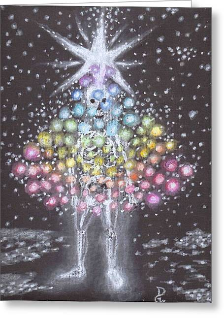 Spectrum Pastels Greeting Cards - All a Glow Greeting Card by Dennis Goodbee