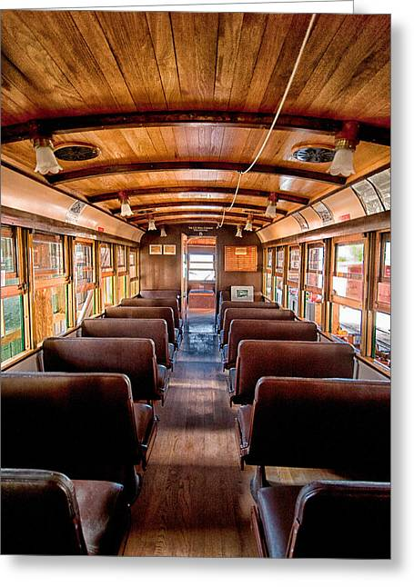 Death Valley National Park Greeting Cards - All Aboard Greeting Card by Cat Connor