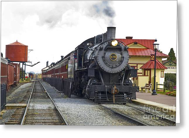 Pa Greeting Cards - All Aboard Greeting Card by Paul W Faust -  Impressions of Light