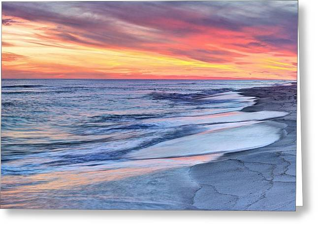 Santa Rosa Beach Greeting Cards - All About Color Greeting Card by JC Findley