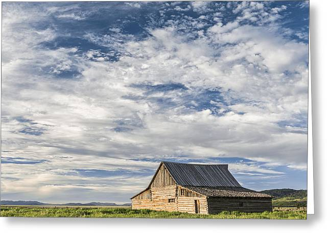 Barn Landscape Photographs Greeting Cards - All Alone II Greeting Card by Jon Glaser