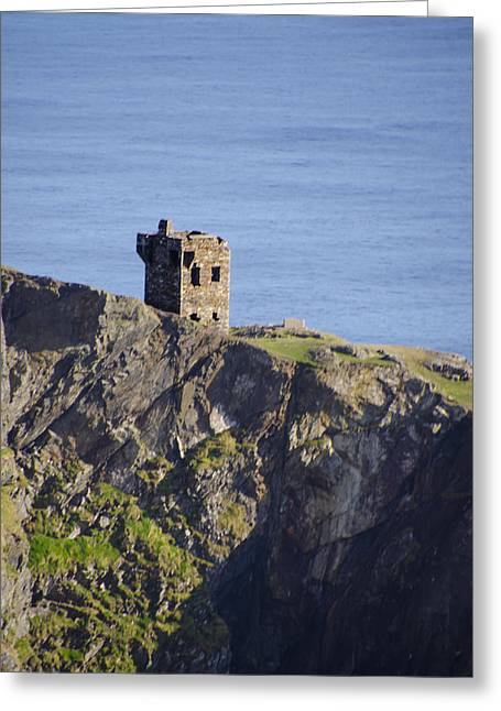 All Along The Watchtower Greeting Cards - All Along the Watchtower - Bunglass Donegal Ireland Greeting Card by Bill Cannon