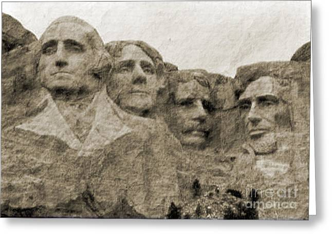 Hills Glass Art Greeting Cards - All American Greeting Card by Nena Trapp