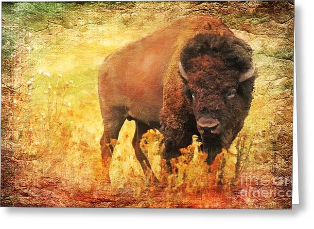 Reverence Digital Art Greeting Cards - All But Forgotten  Greeting Card by Lianne Schneider
