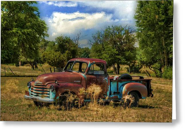 Frisco Greeting Cards - All By Myself Greeting Card by Ken Smith