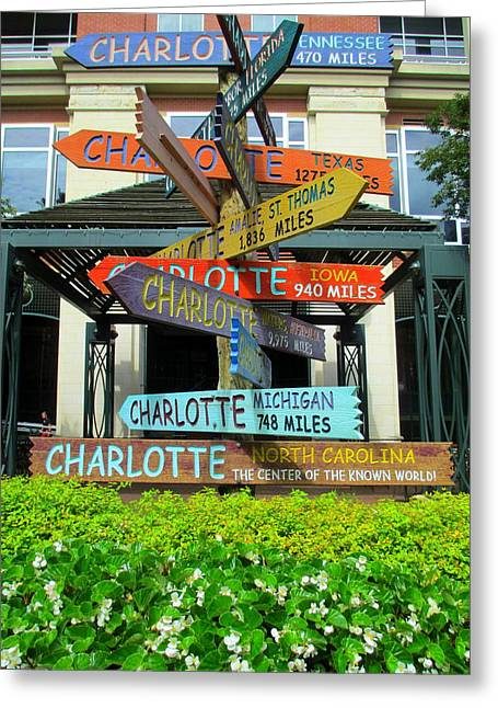 Charlotte Greeting Cards - All Charlottes Greeting Card by Randall Weidner