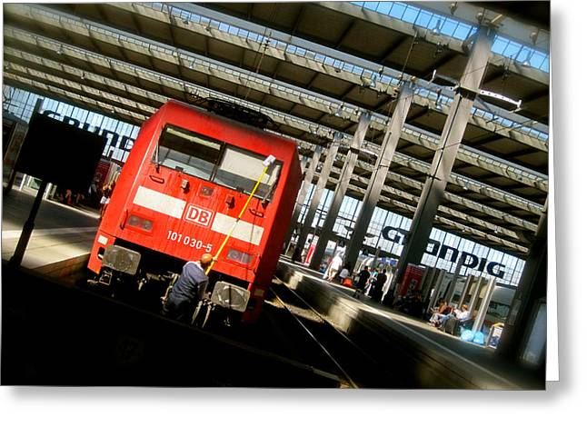Muenchen Greeting Cards - All Clear Greeting Card by Jon Berry
