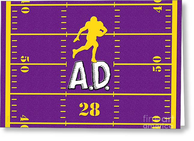 Pro Football Digital Greeting Cards - All Day Greeting Card by Cristophers Dream Artistry