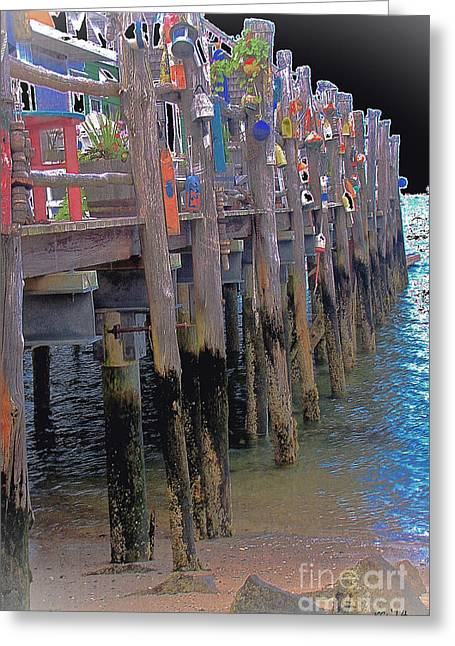 Ptown Greeting Cards - All Decked Out... Greeting Card by Rene Crystal