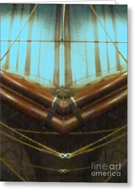 Pirates Greeting Cards - All Fore Naut Greeting Card by Barbie Corbett-Newmin