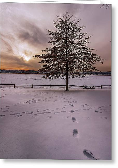Recently Sold -  - Sunset Framed Prints Greeting Cards - All I See Is You  Greeting Card by Anthony Fields