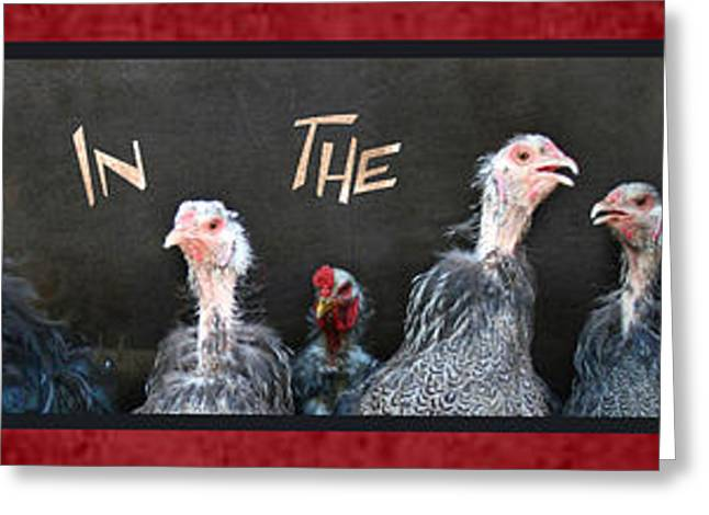 All In The Family Greeting Card by Lori Deiter