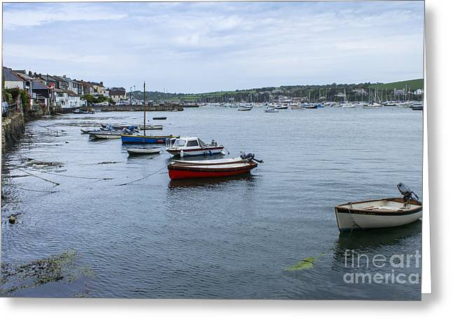 Kernow Greeting Cards - All Lined up Greeting Card by Brian Roscorla