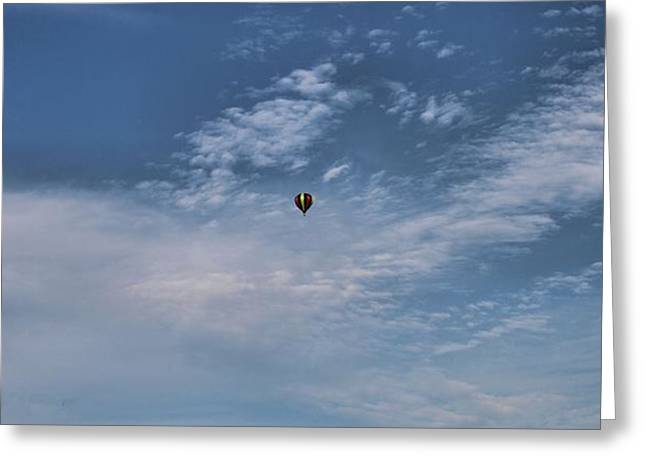 American Tradition Greeting Cards - Hot Air Balloons Findlay Ohio Greeting Card by Dan Sproul