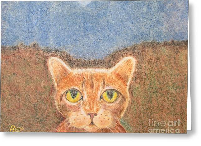 Many Pastels Greeting Cards - All My Cats Greeting Card by Blg H
