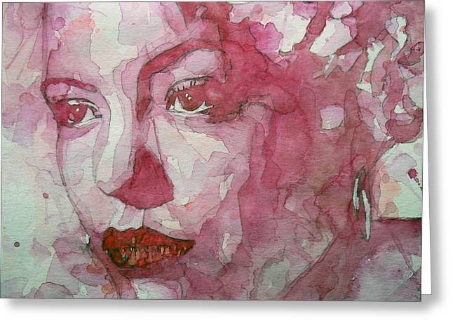 Face Greeting Cards - All Of Me Greeting Card by Paul Lovering