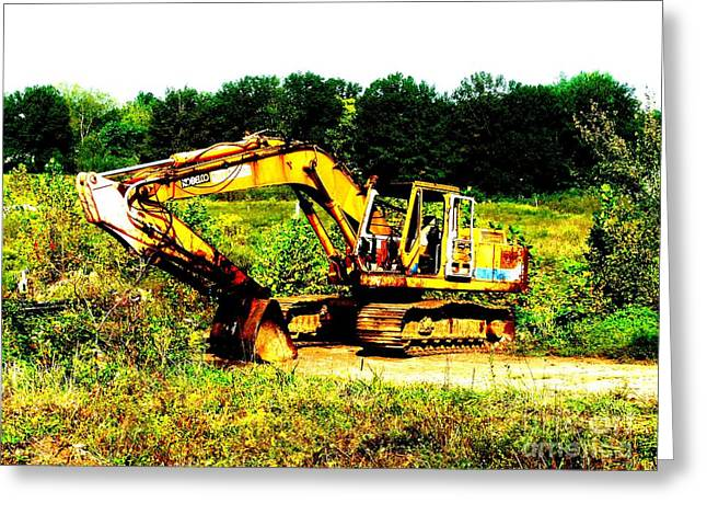 Dozer Greeting Cards - All Ready for Duty III Greeting Card by Kip DeVore
