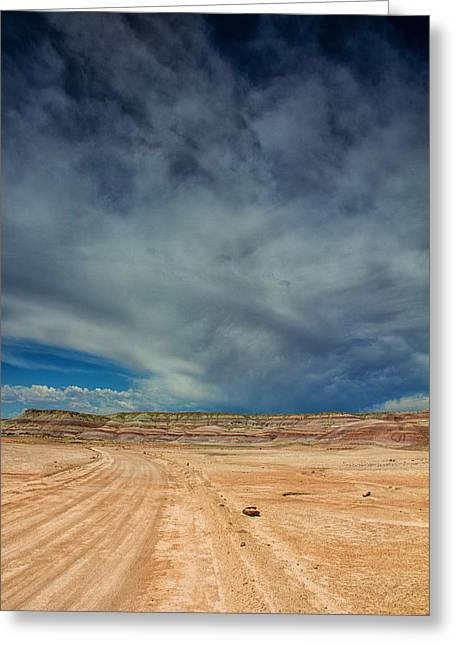 Southern Utah Greeting Cards - All roads lead here Greeting Card by Kunal Mehra