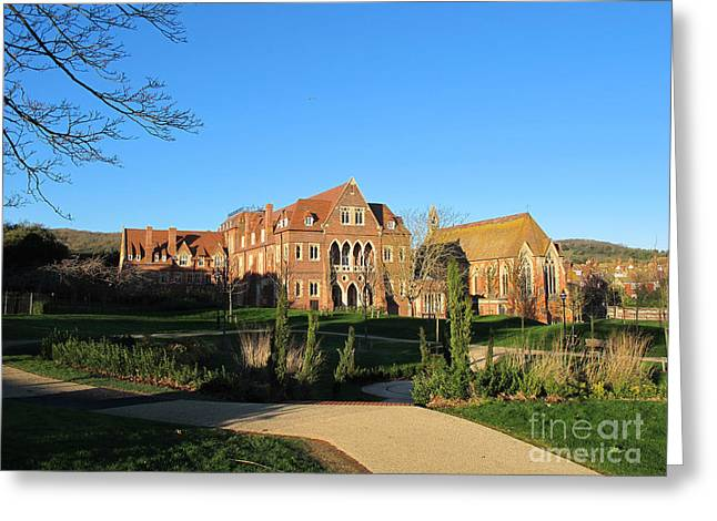 Art Photography Greeting Cards - All Saints church in Eastbourne Greeting Card by Art Photography