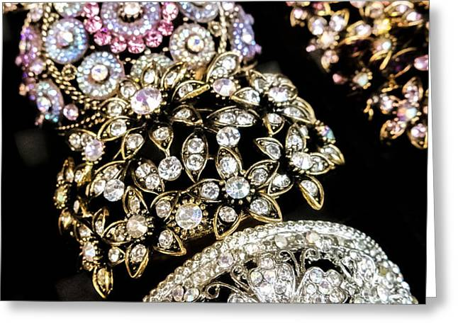 All That Glitters Greeting Card by Caitlyn  Grasso