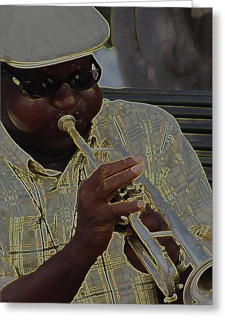 All That Jazz Greeting Cards - All That Jazz Greeting Card by Greg Thiemeyer