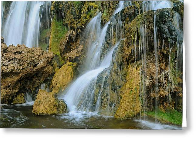 West Fork Greeting Cards - All Washed Up Greeting Card by Jim Southwell
