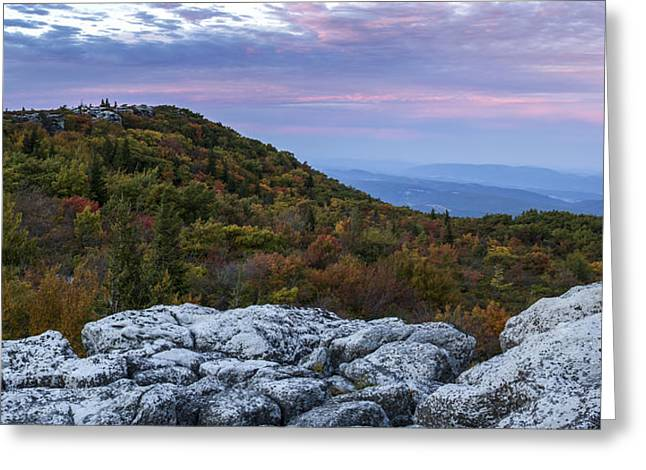 Dolly Sods Wilderness Greeting Cards - Allegheny Front Autumn Greeting Card by Jennifer Grover