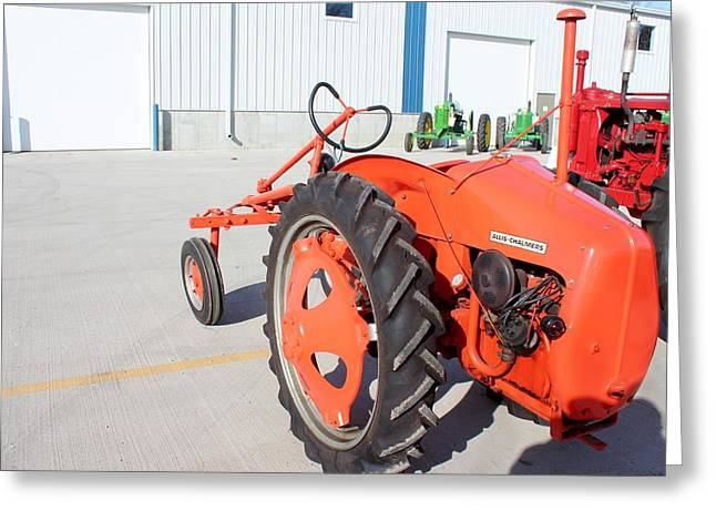 Allis Chalmers G Greeting Card by Nelson Skinner
