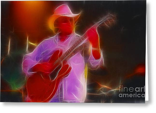 Allman-dickie-95-gb21-fractal Greeting Card by Gary Gingrich Galleries