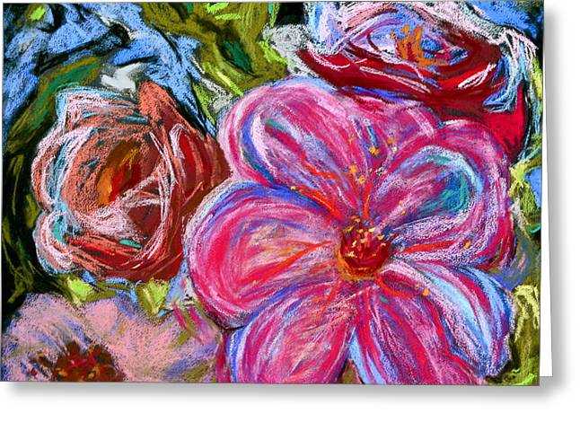 Vibrant Pastels Greeting Cards - Allure Greeting Card by Beverley Harper Tinsley