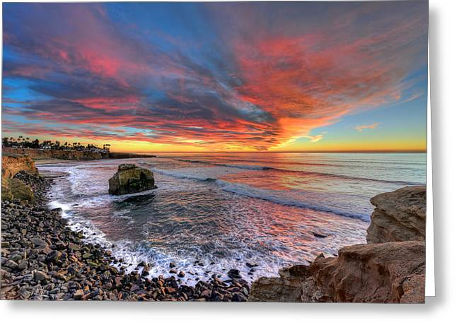 Beauty Mark Photographs Greeting Cards - Alluring Sunset Greeting Card by Mark Whitt