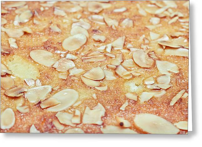 Almonds Greeting Cards - Almond cake Greeting Card by Tom Gowanlock
