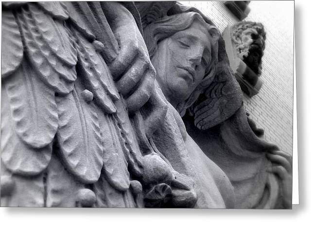 Almost Angel Greeting Card by Jhoy E Meade