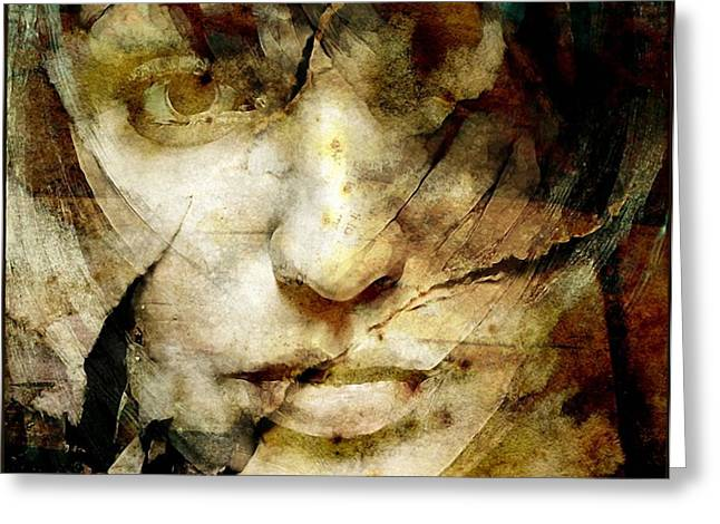 Tears Greeting Cards - Almost forgotten Greeting Card by Gun Legler