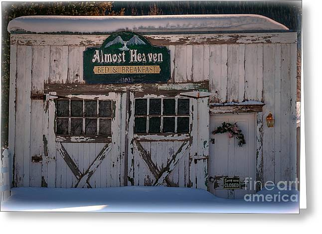 Barn Door Greeting Cards - Almost Heaven Colorado Greeting Card by Janice Rae Pariza