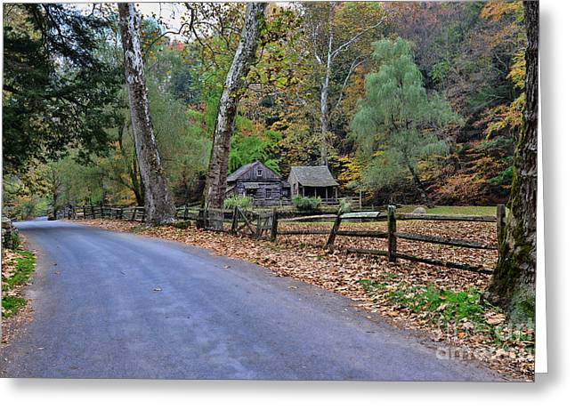 Scenic Drive Greeting Cards - Almost Home Greeting Card by Paul Ward