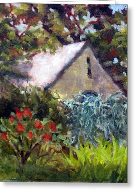 Calistoga Paintings Greeting Cards - Almost Invisible Greeting Card by Char Wood