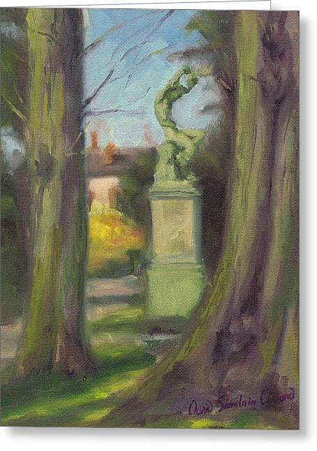 Paysage A L Greeting Cards - Almost spring in the park - Presque le printemps dans le parc Greeting Card by David Ormond