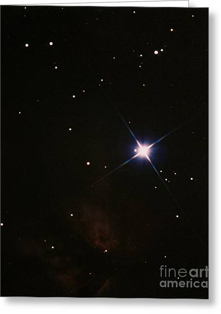 Orionis Greeting Cards - Alnitak Greeting Card by John Chumack