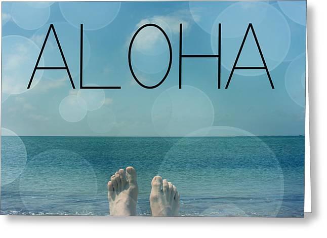 Dissing Greeting Cards - Aloha  Greeting Card by Mark Ashkenazi