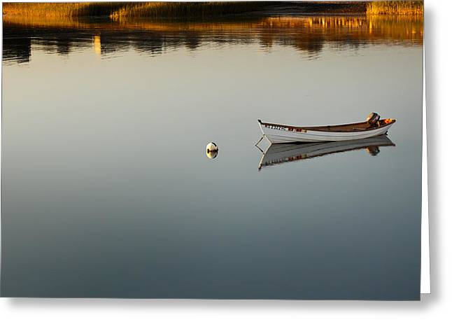 Dingy Greeting Cards - Alone Greeting Card by Bill  Wakeley
