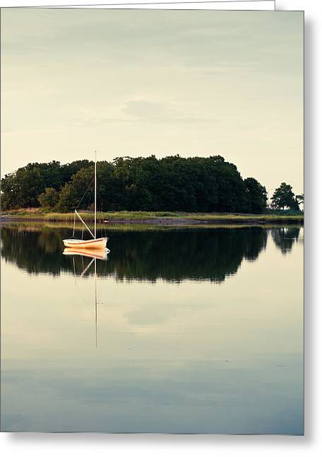 Lee Costa Greeting Cards - Alone Greeting Card by Lee Costa