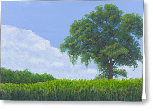 Confluence Greeting Cards - Alone Summer Greeting Card by Garry McMichael