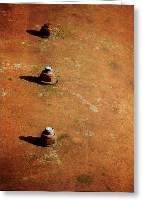 Trio Greeting Cards - Alone Together Greeting Card by Odd Jeppesen