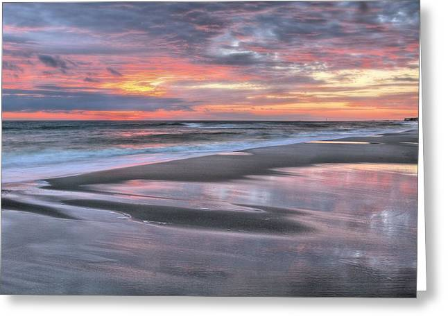 Florida Panhandle Greeting Cards - Along the Coast Greeting Card by JC Findley