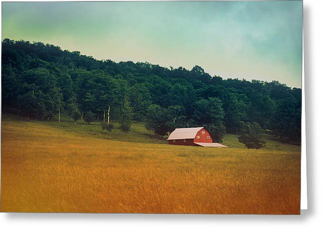 Virginia Landscape Greeting Cards - Along A Country Road Greeting Card by Shane Holsclaw