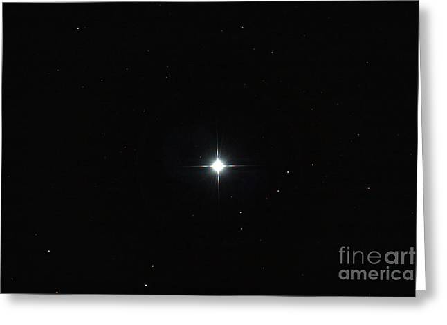 Sirius Greeting Cards - Alpha Canis Majoris Greeting Card by John Chumack