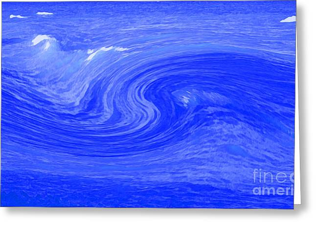 Alpha Wave By Jrr Greeting Card by First Star Art
