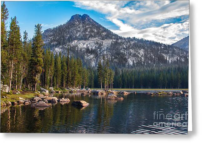 Haybale Greeting Cards - Alpine Beauty Greeting Card by Robert Bales
