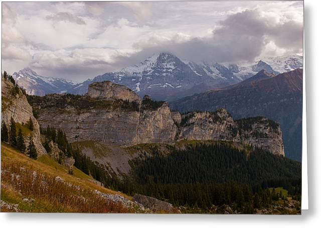 Swiss Greeting Cards - Alpine Hike Greeting Card by Scott Hafer